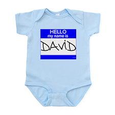 """""""David"""" Onesie"""