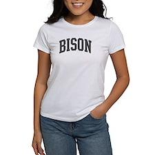 Bison (curve-grey) Tee
