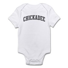 Chickadee (curve-grey) Infant Bodysuit