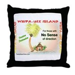 Whipa Uee Island Throw Pillow