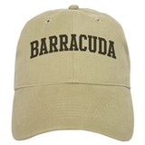 Barracuda (curve-grey) Baseball Cap
