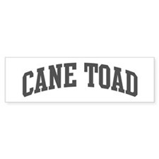 Cane Toad (curve-grey) Bumper Sticker (50 pk)