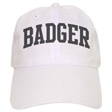Badger (curve-grey) Baseball Cap