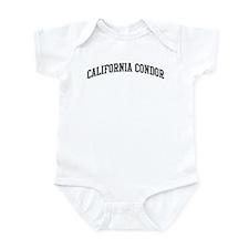 California Condor (curve-grey Infant Bodysuit