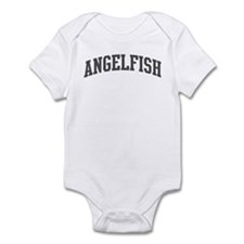 Angelfish (curve-grey) Infant Bodysuit