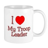 I Heart My Leader Mug