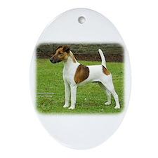 Fox Terrier 9T072D-126 Ornament (Oval)