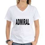 Admiral Women's V-Neck T-Shirt