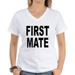 First Mate Women's V-Neck T-Shirt