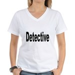 Detective Women's V-Neck T-Shirt