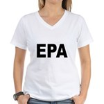 EPA Environmental Protection Women's V-Neck T-Shir