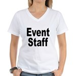 Event Staff Women's V-Neck T-Shirt