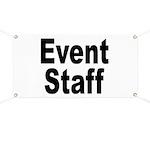 Event Staff Banner