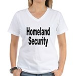 Homeland Security Women's V-Neck T-Shirt