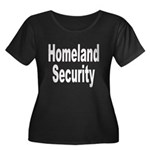 Homeland Security Women's Plus Size Scoop Neck Dar