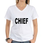 Chief Women's V-Neck T-Shirt