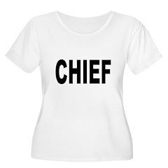 Chief Women's Plus Size Scoop Neck T-Shirt