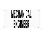 Mechanical Engineer Banner