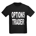 Options Trader Kids Dark T-Shirt