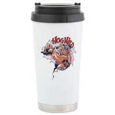 Hog Wild Ceramic Travel Mug
