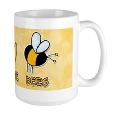 peace love bees Mug
