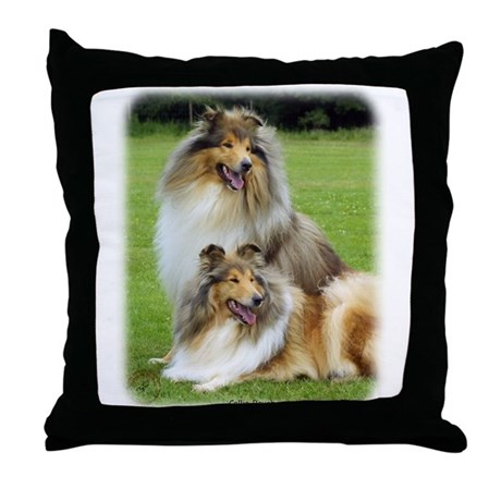 Collie Rough 9R060D-135 Throw Pillow