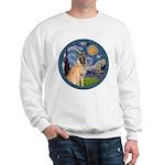 Starry/Belgian Malanois Sweatshirt