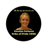 "Carolyn Foltman 3.5"" Button"