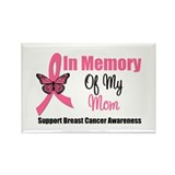 In Memory of My Mom Rectangle Magnet (10 pack)