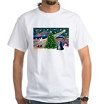 XmasMagic/TibetanTer 5 White T-Shirt
