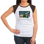 XmasMagic/TibetanTer 5 Women's Cap Sleeve T-Shirt