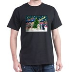 XmasMagic/TibetanTerriers Dark T-Shirt