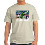 XmasMagic/TibetanTerriers Light T-Shirt
