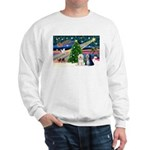 XmasMagic/TibetanTerriers Sweatshirt
