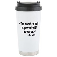 The Road To Hell Ceramic Travel Mug