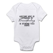 Proud Breast Feeding Infant Bodysuit