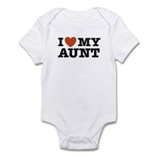 I Love My Aunt Infant Bodysuit