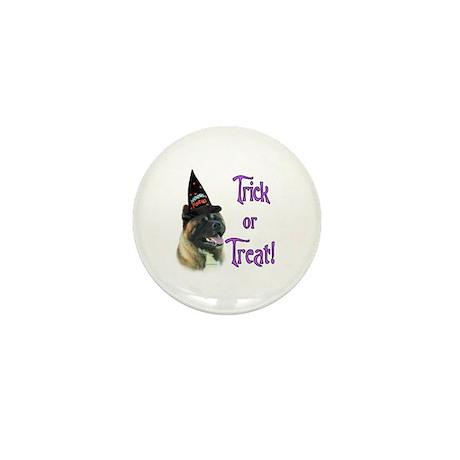 Akita Trick or Treat Mini Button (10 pack)