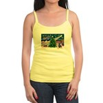 Xmas Magic & Silky Terrier Jr. Spaghetti Tank