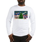 Xmas Magic & Silky Terrier Long Sleeve T-Shirt