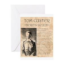 Tom Custer Greeting Card