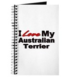 I Love My Australian Terrier Journal