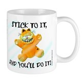 Stick to it Garfield Mug