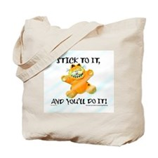 Stick to it Garfield Tote Bag
