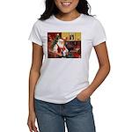 Santa's Sib Husky Women's T-Shirt