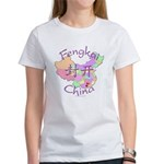 Fengkai China Map Women's T-Shirt