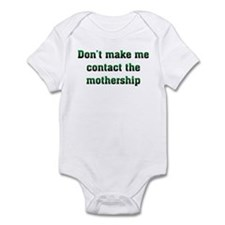 Contact Mothership Infant Bodysuit