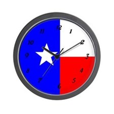 TEXAS STAR Wall Clock