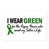 I Wear Green 2 (Sister's Life) Postcards (Package