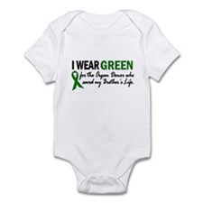 I Wear Green 2 (Brother's Life) Infant Bodysuit